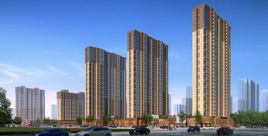 富丽华庭 中建二局城建 质量绝对没得说!