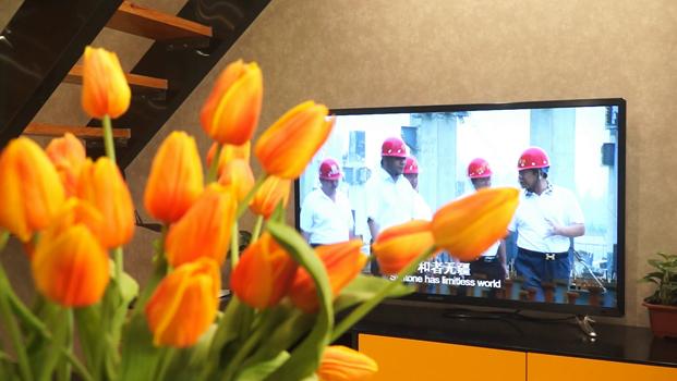 视频看房:邯郸隆基泰和星魔方45平米精装样板间展示